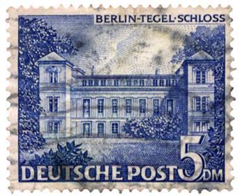 n°46 obl. - Timbre ALLEMAGNE BERLIN Poste