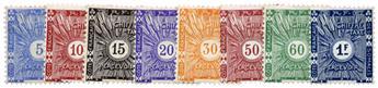 n°1/8* - Timbre COTE DES SOMALIS Taxe