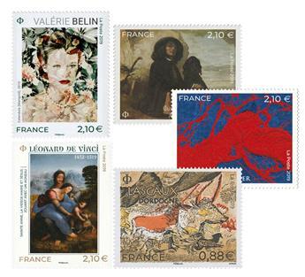 n.o 112 -  Sello Francia Correos