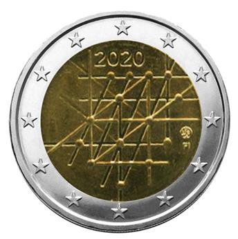2 EURO COMMEMORATIVE 2020 : FINLANDE (100 ans de l´université de Turku)