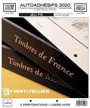 FRANCE AUTOADHESIFS FS : 2020 - 1ER SEMESTRE (Sans pochettes)