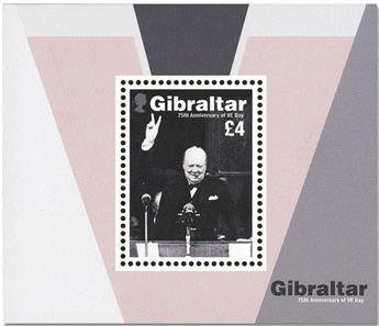 n° F1956 - Timbre GIBRALTAR Poste
