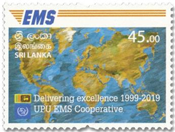 n° 2196 - Timbre SRI LANKA Poste