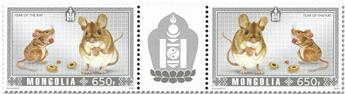 n° 3133/3134 - Timbre MONGOLIE Poste