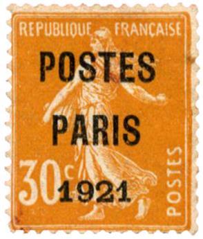 n°29(*) - Timbre FRANCE Préoblitères