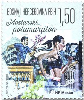 n° 493 - Timbre HERCEG-BOSNA Poste