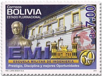 n° 1624 - Timbre BOLIVIE Poste