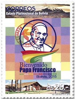 n° 1629 - Timbre BOLIVIE Poste