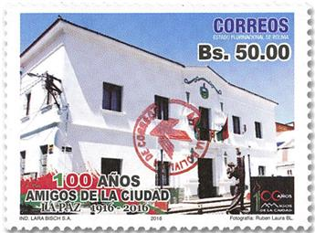 n° 1635 - Timbre BOLIVIE Poste