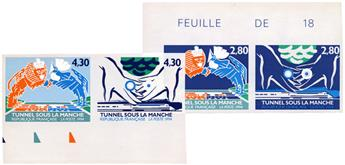 n°2880/2883** ND - Timbre FRANCE Poste