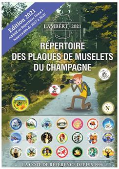Répertoire des plaques de muselets du champagne 2017-2020 (LAMBERT)