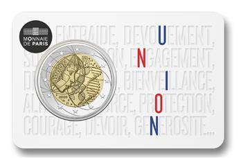 BU : 2 EURO COMMEMORATIVE 2020 : FRANCE (RECHERCHE MEDICALE - UNION)