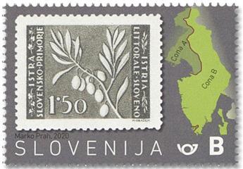 n° 1195 - Timbre SLOVENIE Poste