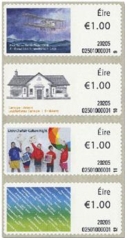 n° 131/134 - Timbre IRLANDE Timbres de distributeurs