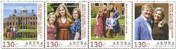 n° 1079/1082 - Timbre ARUBA Poste