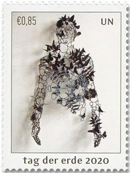 n° 1059/1060 - Timbre ONU VIENNE Poste