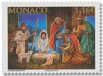 n° 3256 - Timbre Monaco Poste