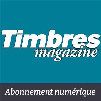 Abonnement Timbres Magazine - Version numérique (12 mois)