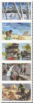 n° 5322/5326 - Timbre ETATS-UNIS D´AMERIQUE Poste