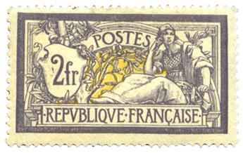 nr. 122 -  Stamp France Mail