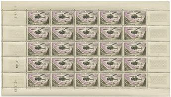 n° 37 -  Selo França Correio aéreo