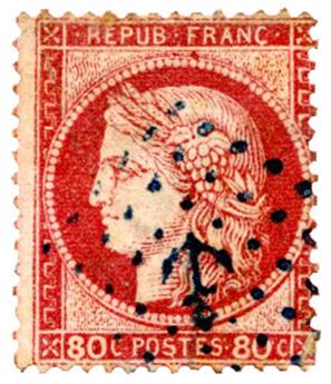 n°57 obl. TB - Timbre FRANCE Poste