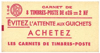 n°1234-C1** - Timbre FRANCE Carnets