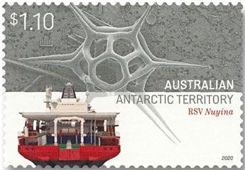 n° 270/273 - Timbre TERRITOIRE ANTARCTIQUE AUSTRALIEN Poste