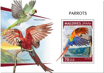 n° 1260 - Timbre MALDIVES Blocs et feuillets