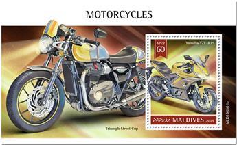 n° 1340 - Timbre MALDIVES Blocs et feuillets