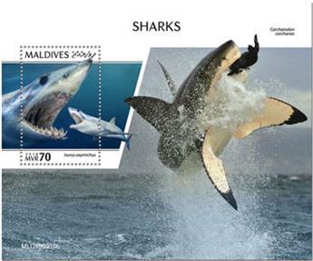 n° 1420 - Timbre MALDIVES Blocs et feuillets