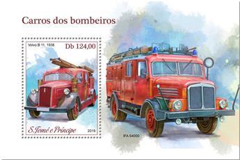 n° 1242 - Timbre SAINT-THOMAS ET PRINCE Blocs et feuillets