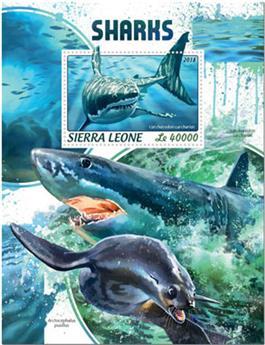 n° 1440 - Timbre SIERRA LEONE Blocs et feuillets