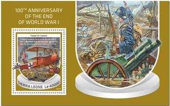 n° 1500 - Timbre SIERRA LEONE Blocs et feuillets