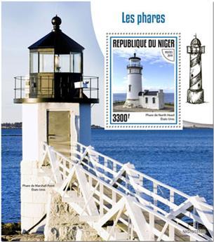 n° 1048 - Timbre NIGER Blocs et feuillets