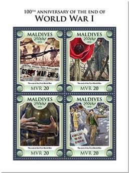 n° 6270/6273 - Timbre MALDIVES Poste