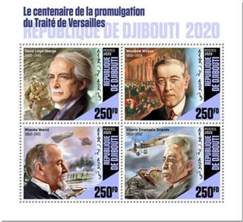 n° 2889/2892 - Timbre DJIBOUTI Poste