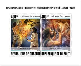 n° 3019/3020 - Timbre DJIBOUTI Poste