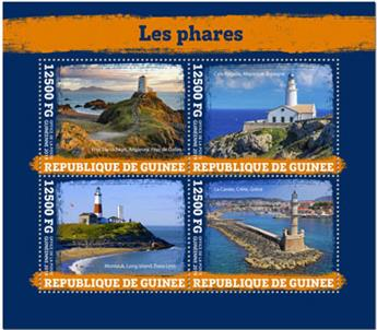 n° 10093/10096 - Timbre GUINEE Poste