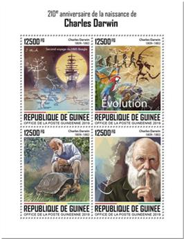 n° 10135/10138 - Timbre GUINEE Poste