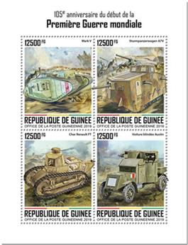 n° 10175/10178 - Timbre GUINEE Poste