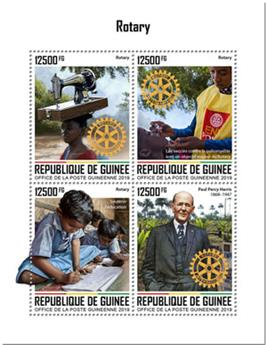 n° 10215/10218 - Timbre GUINEE Poste