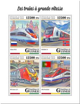n° 10247/10250 - Timbre GUINEE Poste