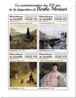 n° 10347/10350 - Timbre GUINEE Poste