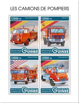 n° 9901/9904 - Timbre GUINEE Poste