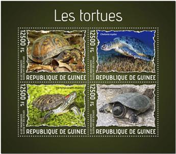 n° 9981/9984 - Timbre GUINEE Poste