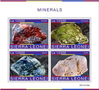 n° 9454/9457 - Timbre SIERRA LEONE Poste