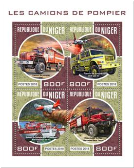 n° 4609/4612 - Timbre NIGER Poste