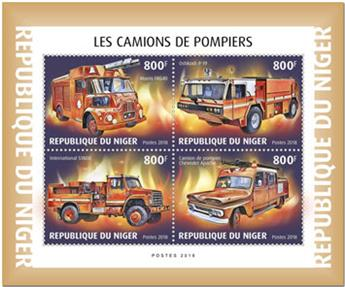 n° 5014/5017 - Timbre NIGER Poste