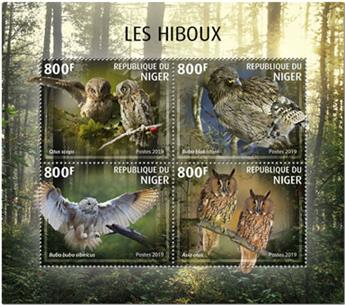 n° 5683/5686 - Timbre NIGER Poste